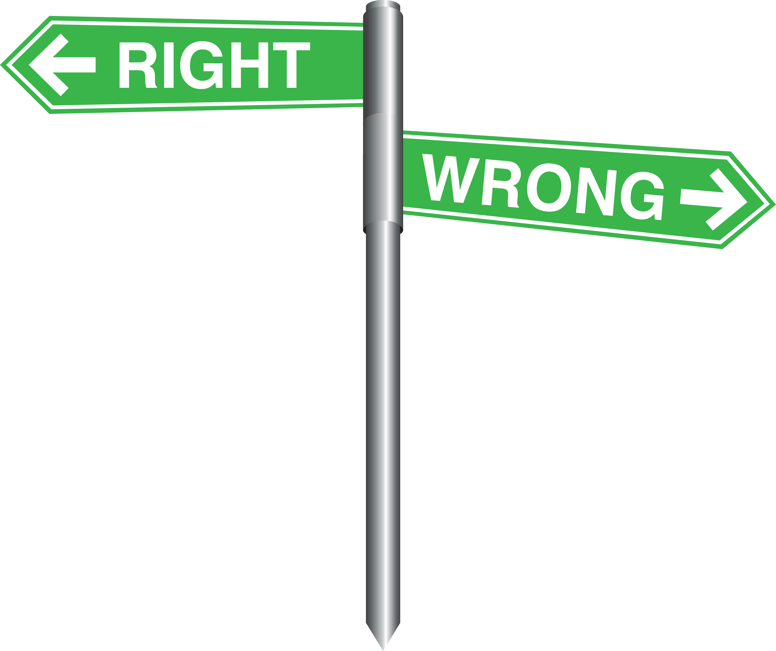 Right and Wrong Road Signs - Wisc-Online OER