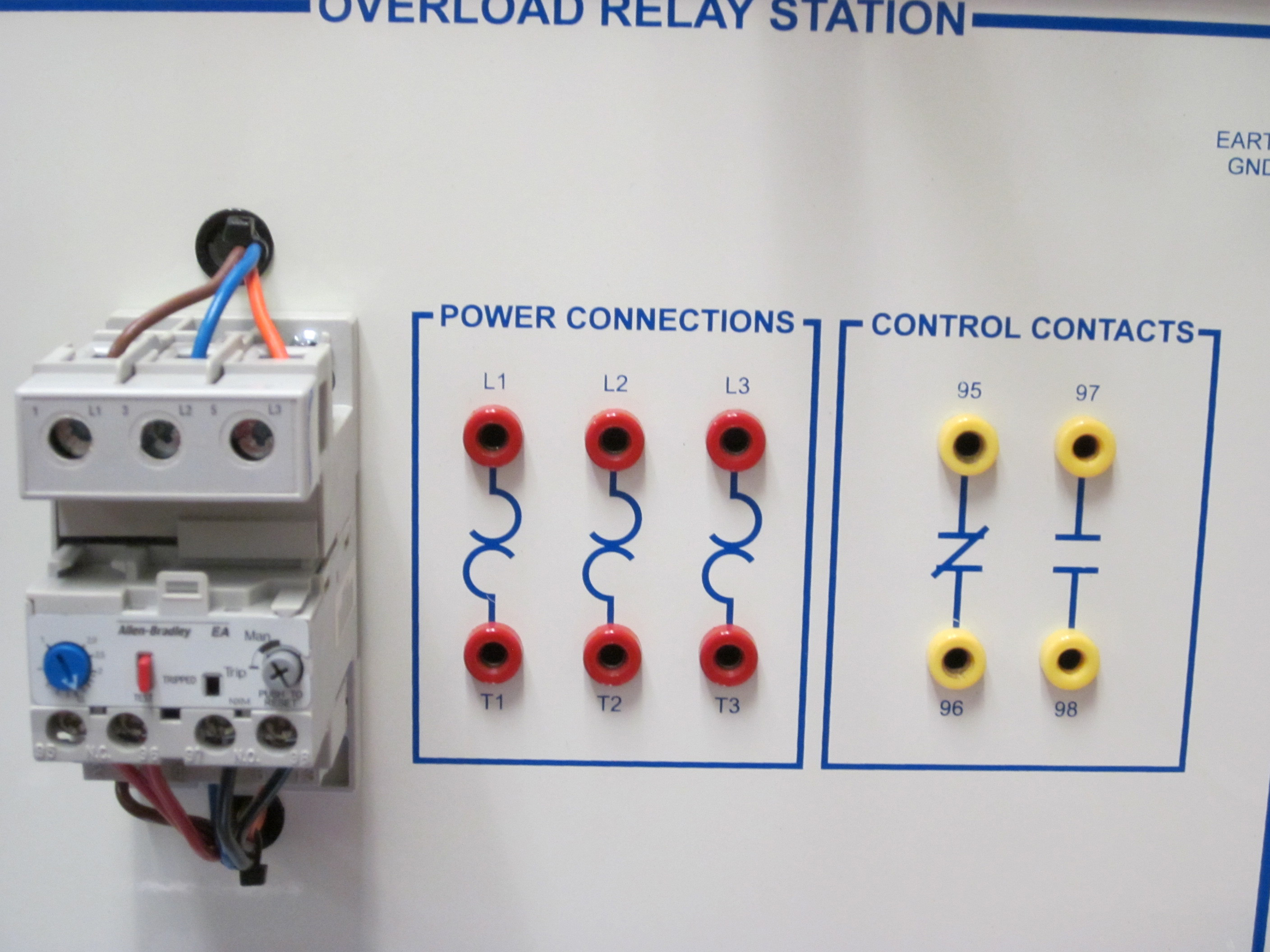 Electric Motor Control Circuit overloads - Wisc-Online OER