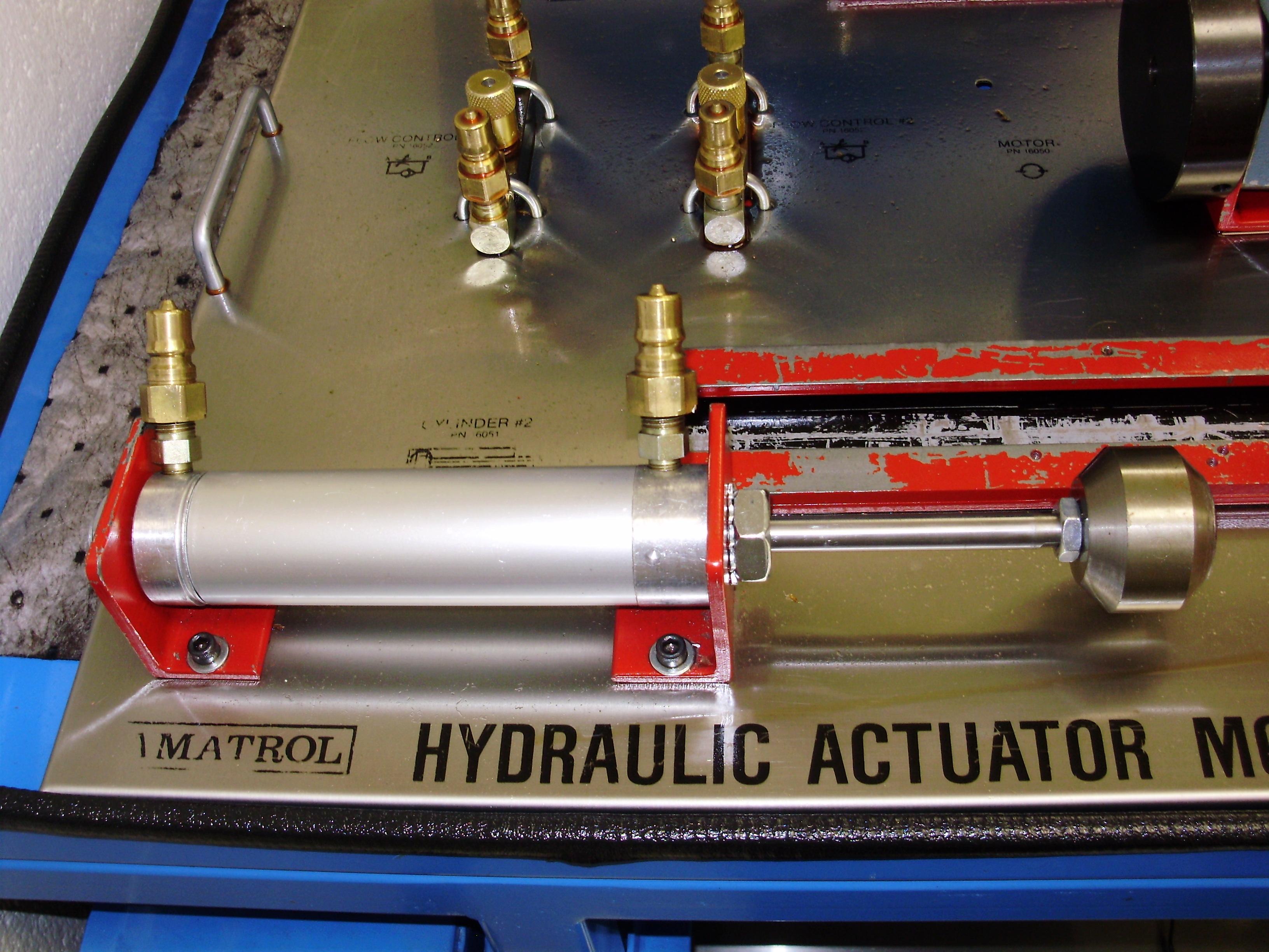Hydraulic actuator P7070052 - Wisc-Online OER