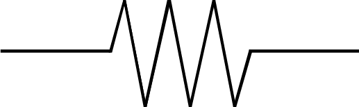 Resistor Schematic Symbol with No Background - Wisc-Online OER
