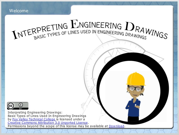 basic types of lines used in engineering drawings