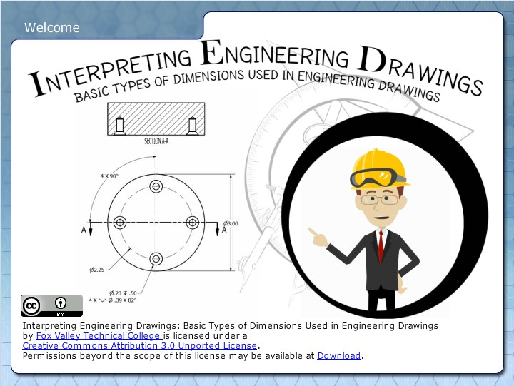 basic types of dimensioning used in engineering drawings - wisc-online oer