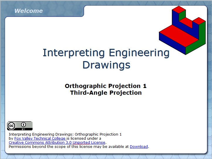 Orthographic Projection 1 WiscOnline OER – Orthographic Projection Worksheet
