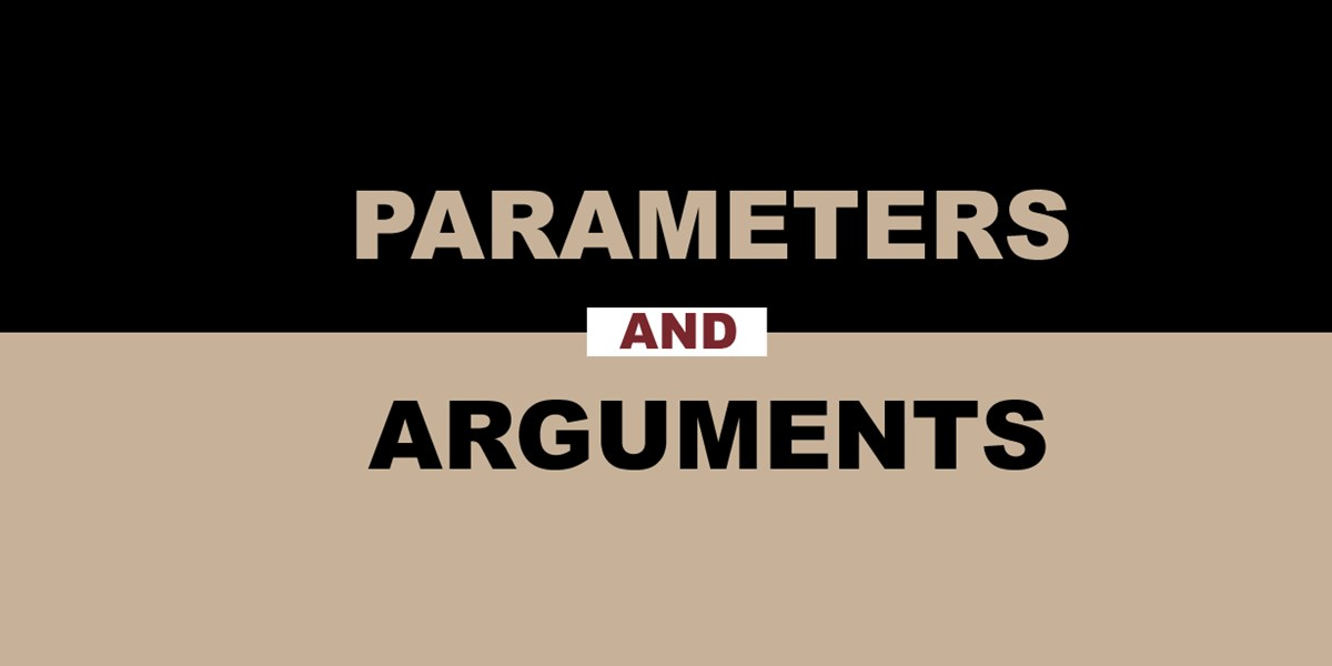 Parameters And Arguments Wisc Online Oer