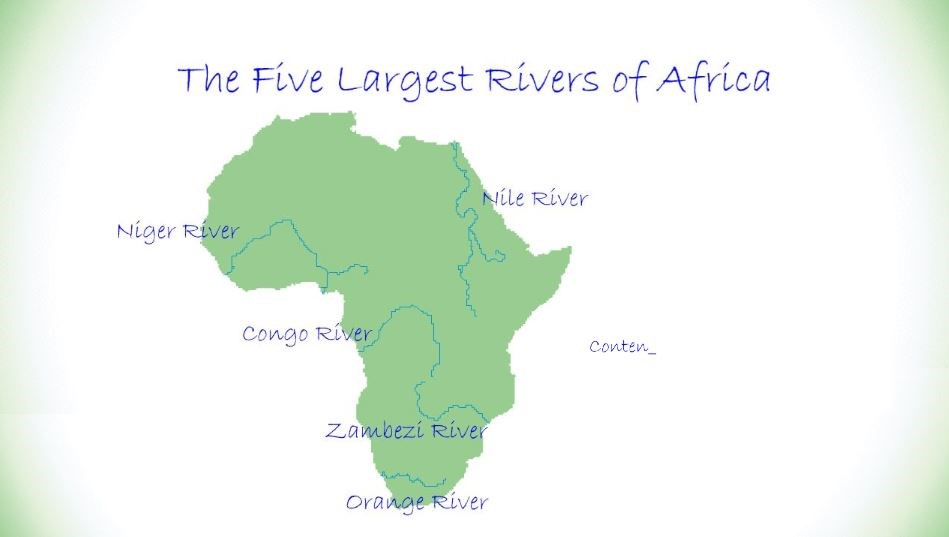 The Five Largest Rivers of Africa (Screencast) - Wisc-Online OER