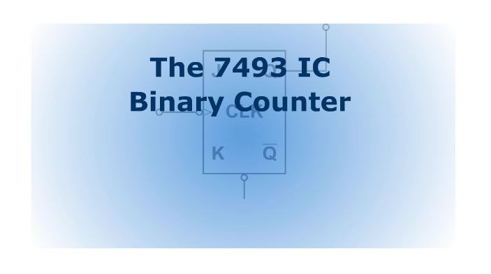 logic diagram 7493 the 7493 ic binary counter  screencast  wisc online oer  the 7493 ic binary counter  screencast