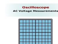 Science, Technology, Engineering & Mathematics Oscilloscope AC Voltage Measurements