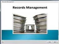 Business Management & Administration Business Records Management