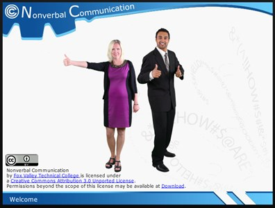 Arts, Audio/Video Technology & Communications Nonverbal Communication