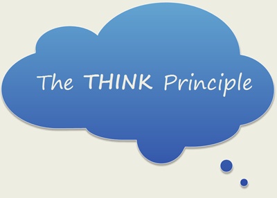 Sociology The THINK Principle