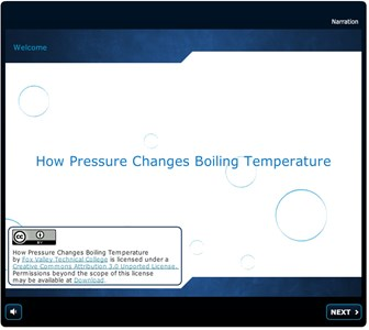 Chemistry How Pressure Changes Boiling Temperature