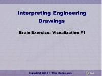 Science, Technology, Engineering & Mathematics Brain Exercise: Visualization #1