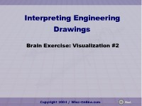 Science, Technology, Engineering & Mathematics Brain Exercise: Visualization #2
