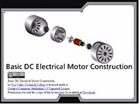 Science, Technology, Engineering & Mathematics Basic DC Electrical Motor Construction