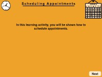 Health Science Scheduling Appointments