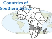 Geography Countries of Southern Africa