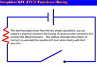 Science, Technology, Engineering & Mathematics Graphical BJT/JFET Transistor Biasing