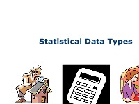 Mathematics Statistical Data Types