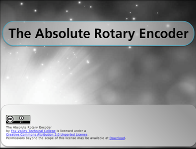 Manufacturing The Absolute Rotary Encoder