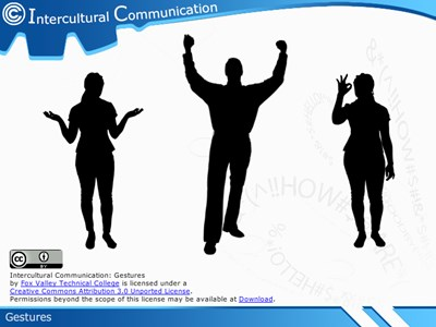 Communication Intercultural Communication: Gestures