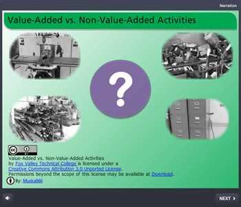 Science, Technology, Engineering & Mathematics Value-Added vs. Non-Value-Added Activities