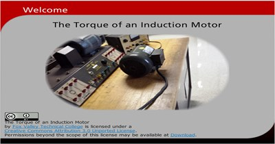 Science, Technology, Engineering & Mathematics The Torque of an Induction Motor